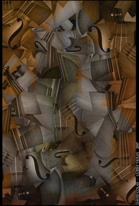 picasso paintings violin cubist violin by javisco on deviantart