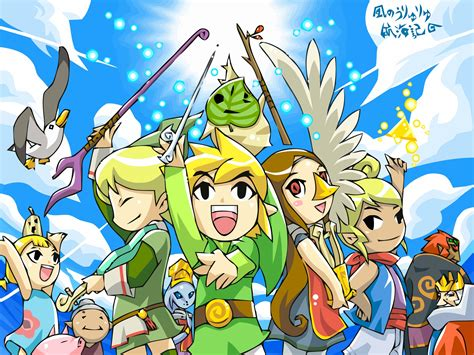 Wind Waker Images Wind Waker Wallpaper Hd Wallpaper And