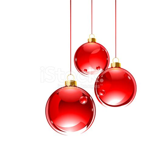 hanging baubles three hanging glass baubles stock photos freeimages