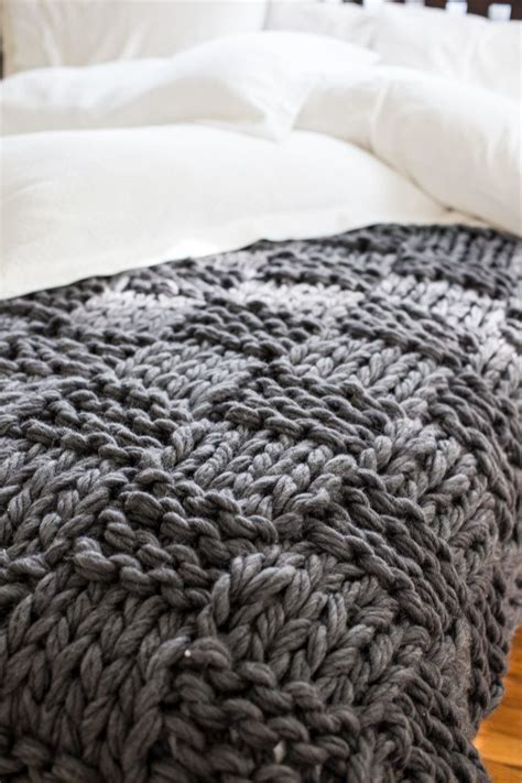 knitting blanket pattern chunky arm knit blanket pattern flax twine