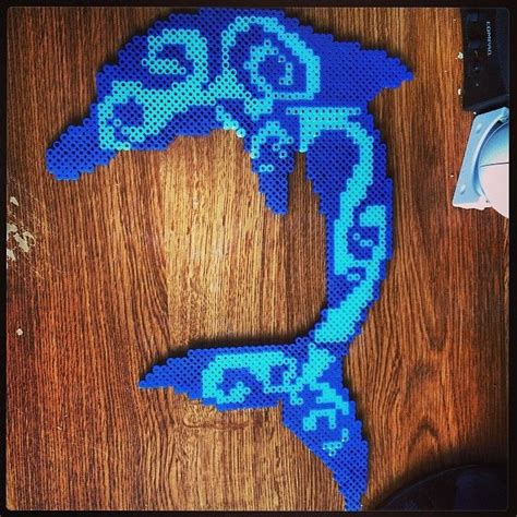 dolphin bead patterns 36 best images about perler sea and others on