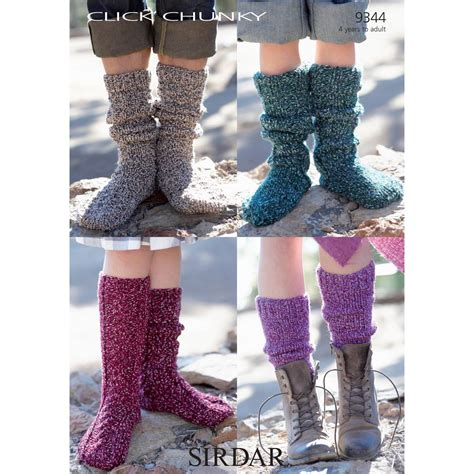 chunky socks knitting pattern free pattern sirdar click chunky socks knitting pattern