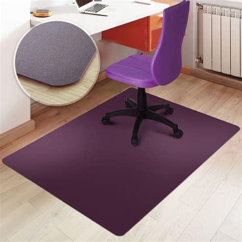 office desk chair mat rectangular office chair mat purple floor protection