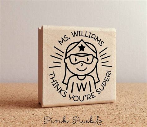 personalized rubber sts for teachers 196 best images about custom personalized sts by pink