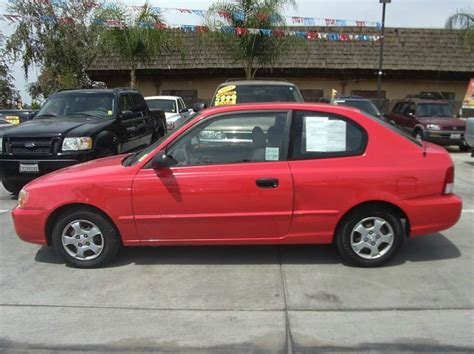 2002 Hyundai Accent Gs by 2002 Hyundai Accent Gs 2dr Hatchback In Madera Ca