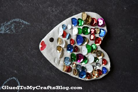 clay craft for clay rainbow fish kid craft