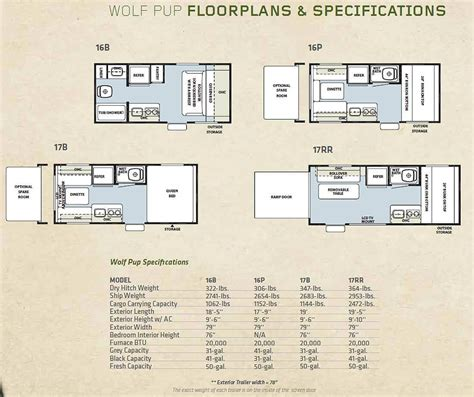 forest river travel trailers floor plans 2011 forest river travel trailer hauler