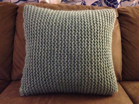 how to knit a pillow make bake and knit pillow