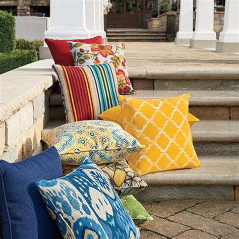 patio cushions and pillows patio swing cushions toss pillows and more bed bath
