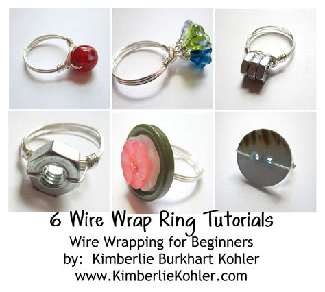 how to make wire jewelry rings wire wrapped ring tutorial emerging creatively