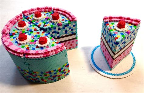 3d perler 3d perler bead cake pixel shop