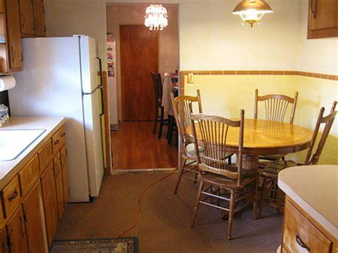 yellow and brown kitchen ideas retro decorating ideas for angela s 1956 kitchen retro