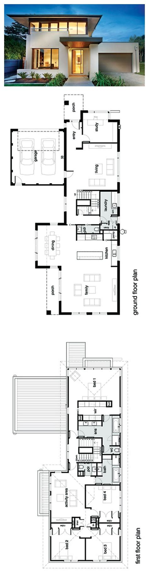 modern house plan best 25 modern house plans ideas on