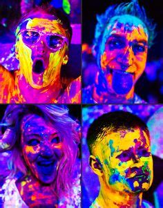 glow in the paint masters 1000 images about glow on glow paint