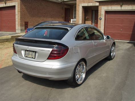 Mercedes C Class 2003 by 2003 Mercedes C Class Sports Coupe