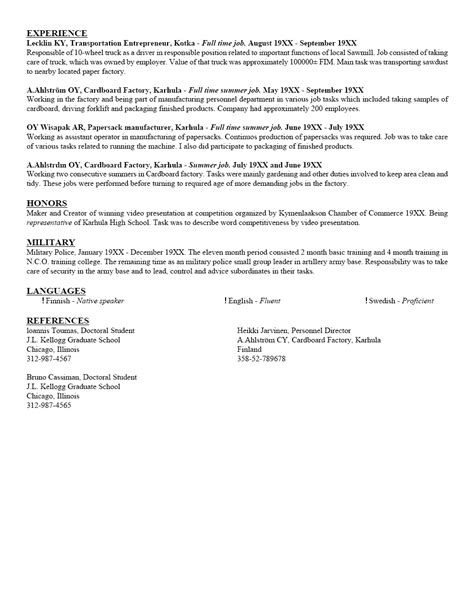 sample resume for architecture student gallery