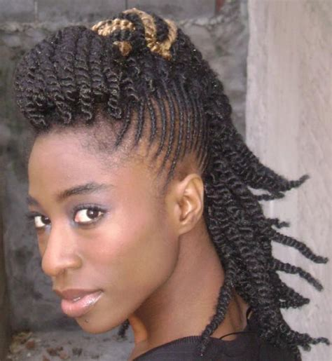 braided mohawk with mohawk hairstyles for black beautiful hairstyles