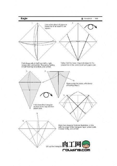 easy origami eagle best 20 origami eagle ideas on origami