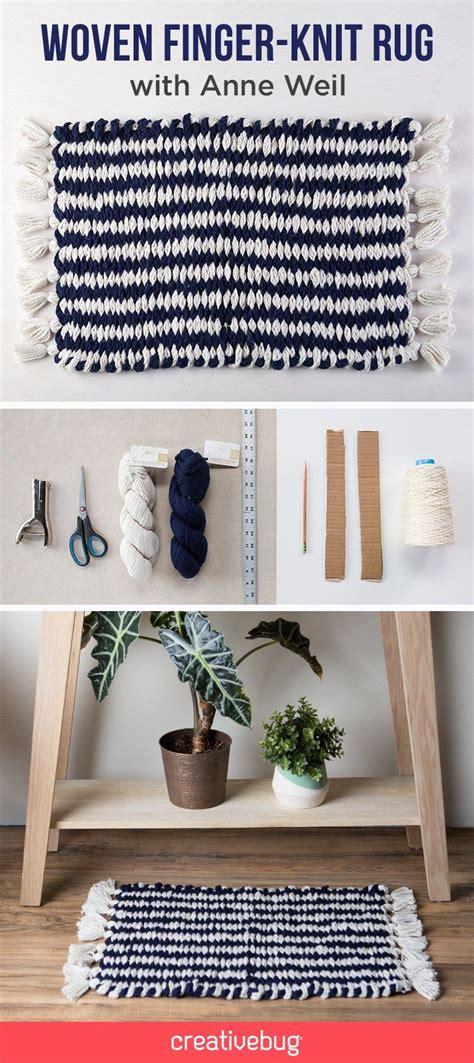 finger knitting rug 25 unique knit rug ideas on knitted rug diy