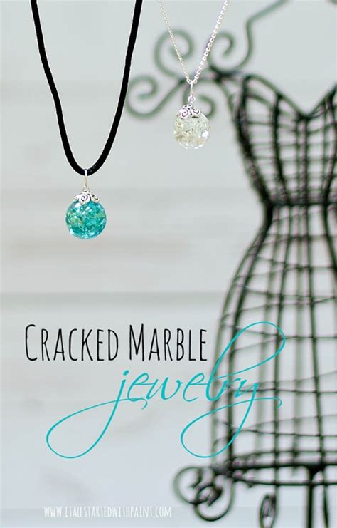 how to make marble jewelry cracked marble jewelry