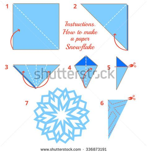 how to make a snowflake origami how to make paper snowflake tutorial