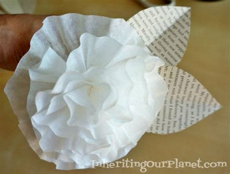 coffee filter paper crafts coffee filter paper flowers craft activities for