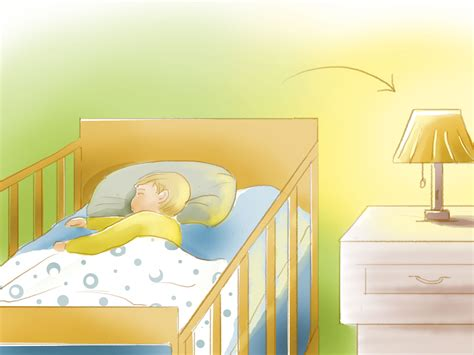 how to get baby sleep in crib 4 ways to get a baby to sleep in a crib wikihow