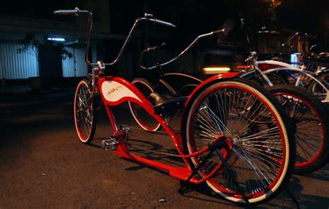 Modifikasi Motor Model Sepeda by Modifikasi Sepeda Terbaru Bergaya Chopper Modifikasi