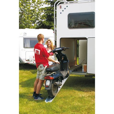 fiamma carry moto rail porte moto avec re de soute cing car