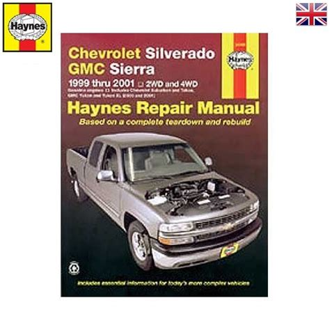 haynes repair manual chevrolet silverado and gmc sierra 1999 2002 2wd 4wd for sale carmanuals com haynes repair manual usa pour chevrolet silverado et gmc sierra de 99 224 2005 9781563926815 978