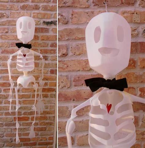 milk jug crafts for how to milk jug skeleton make