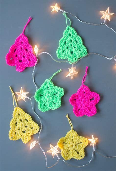 crochet tree ornament crochet tree and ornaments let s do