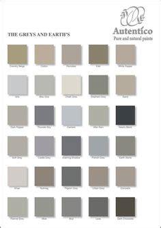 autentico chalk paint stockists hshire les teintes de gris nuancier blanc noir gris naturel
