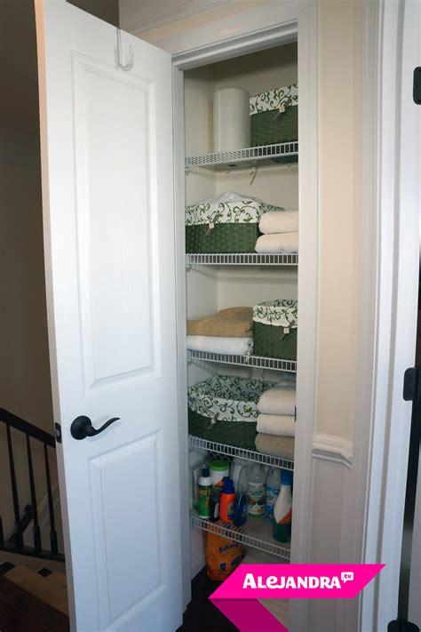 linen closet how to organize a small linen closet