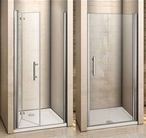 bi fold shower door frameless aica frameless pivot bi fold shower door enclosure glass