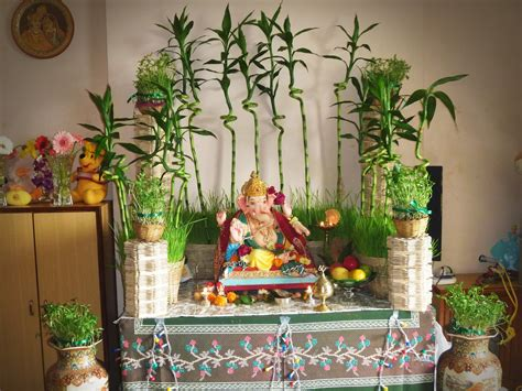 decorations to make at home for decoration ideas for ganesh chaturthi at home festivals