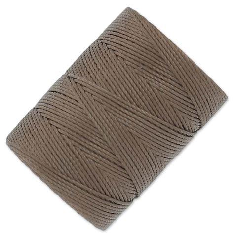 beading cord c lon beading cord 0 50 mm med brown x 82 m perles co
