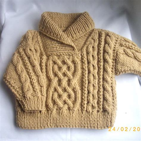 knit toddler sweater liam cross neck cable sweater for baby or toddler pdf