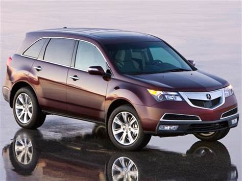 2012 acura mdx pricing ratings reviews kelley blue book
