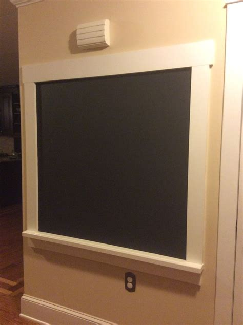 diy chalkboard wall frame diy framed chalkboard with a ledge chalkboards