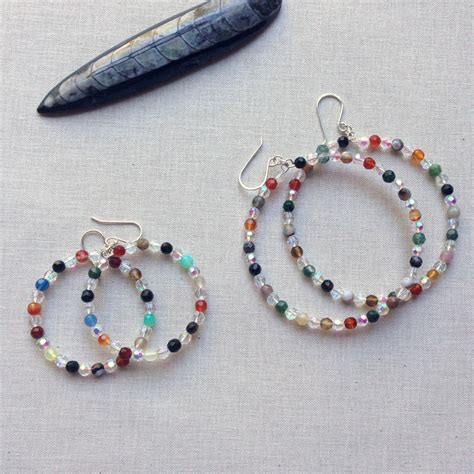 how to make beaded jewelry earrings yang s jewelry how to make beaded memory wire