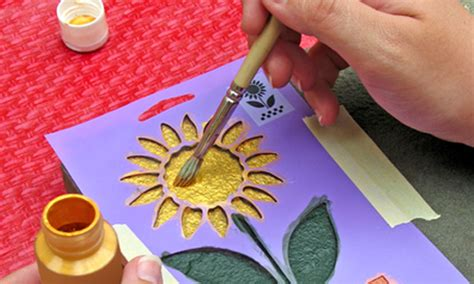 how to make beautiful birthday cards at home various ways to create remarkable stencil designs naldz