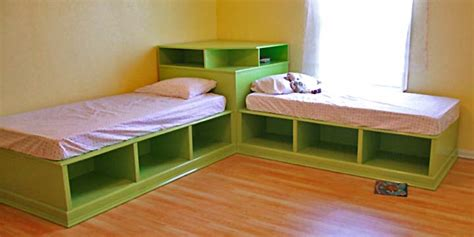 plans for size corner beds with storage 2017 2018