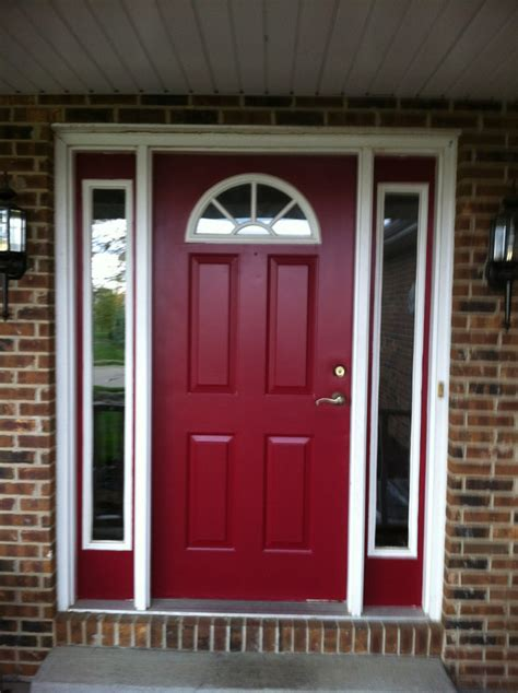 behr paint colors for exterior doors behr s spiced wine paint for the front door i this
