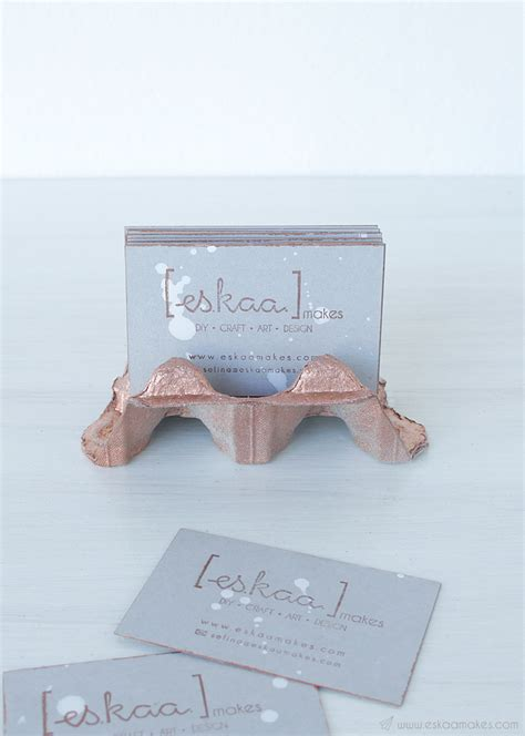 make a card holder how to make upcycled business card holder 187 es kaa makes