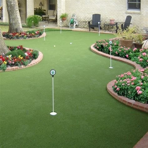 backyard mini golf back yard mini golf pictures to pin on pinsdaddy