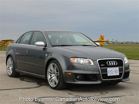 2007 Audi Rs4 by Canadian Auto Review 2007 Audi Rs4