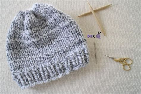 learn knitting patterns for beginners 25 best ideas about knit hat patterns on
