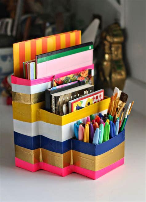 and crafts organizer back to school homework caddy