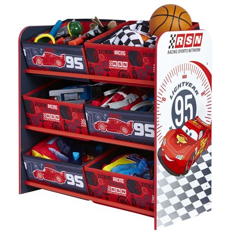 disney bedroom furniture uk disney cars 6 bin storage bedroom furniture free p p ebay